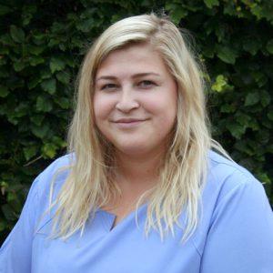 Francesca Vincent, receptionist at Pet Doctors