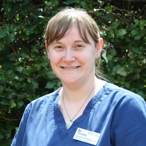 Sarah Betteridge, RVN at Pet Doctors