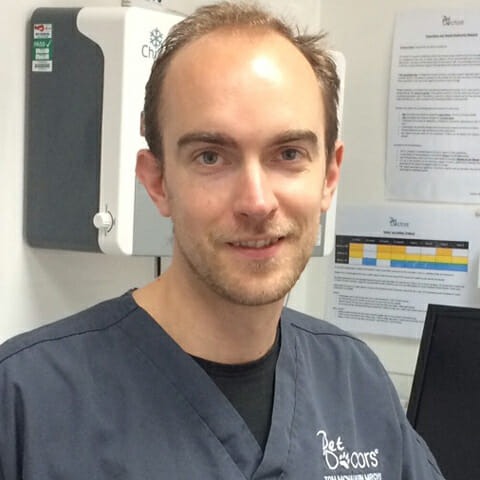 Tom McNaughton, Veterinary Surgeon at Pet Doctors