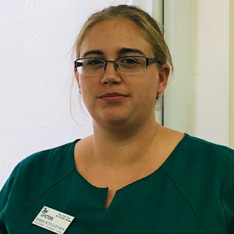 Emma Woolley, RVN at Pet Doctors