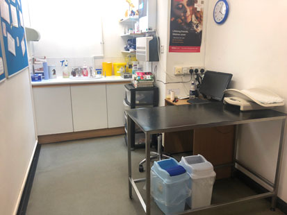 pet Doctors Fetcham consult room