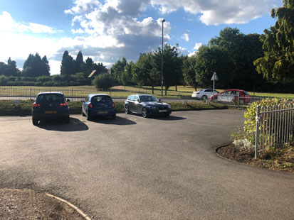 Pet Doctors Shalford car park