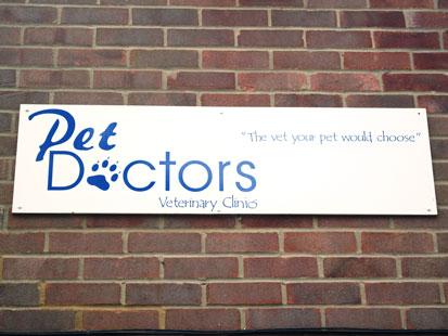 Pet Doctors Botley signage