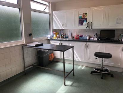 Pet Doctors Tongham consult room