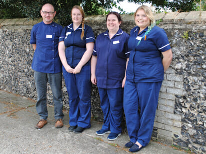 The team at Pet Doctors Soham